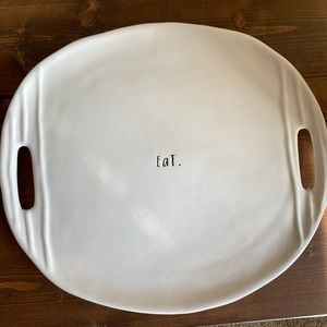 Eat Rae Dunn Serving Platter